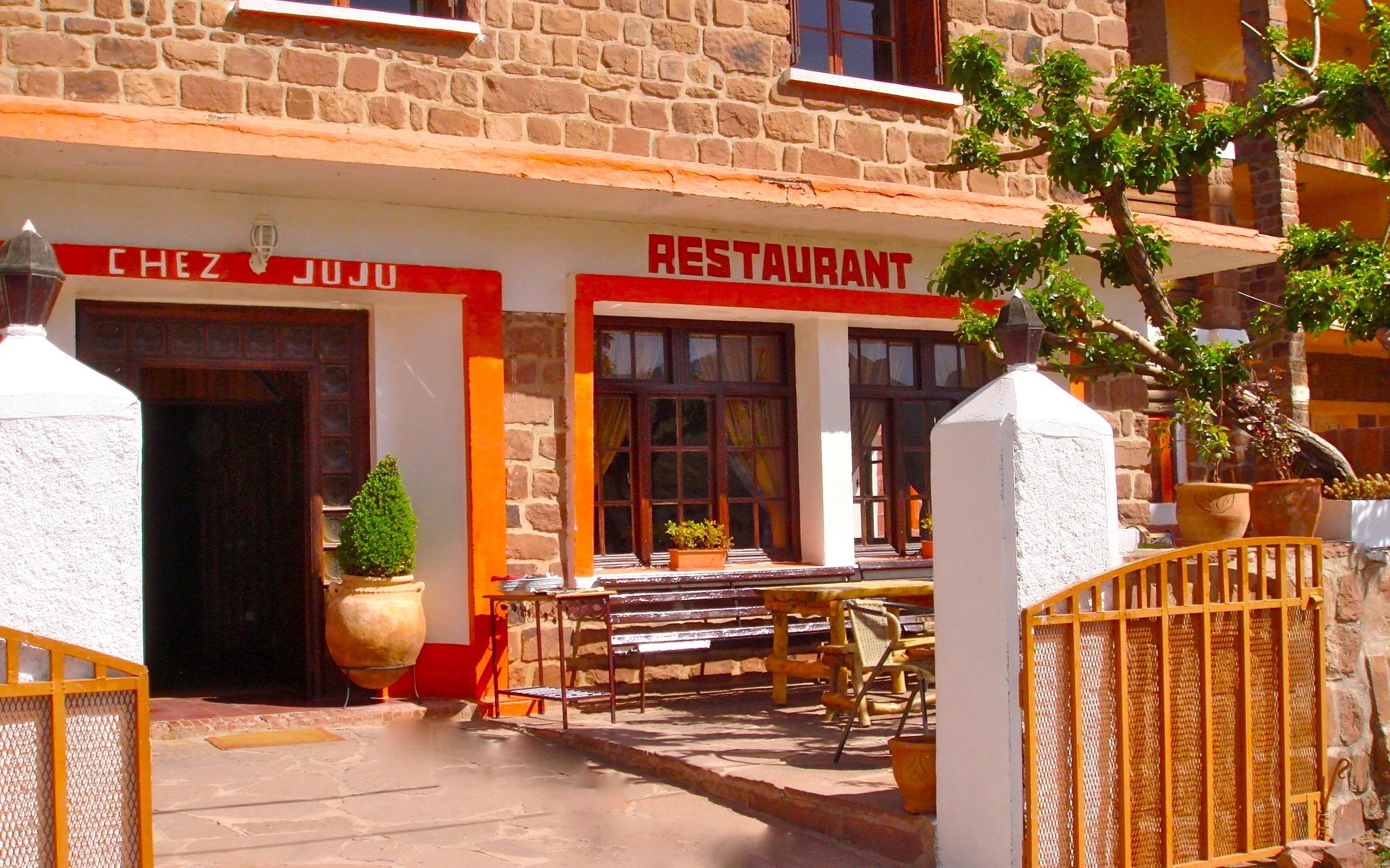 Chez Juju Restaurant De Montagne Situ 233 Dans L 226 Atlas Au